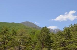 観音平から編笠山、権現岳