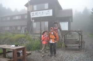 北横岳の登り