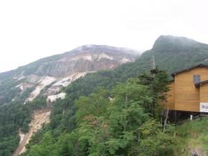 夏沢峠からの硫黄岳