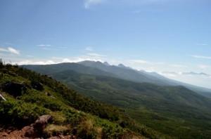 八ヶ岳 茶臼山展望台より