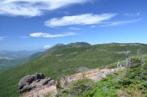 八ヶ岳 蓼科山と北横岳