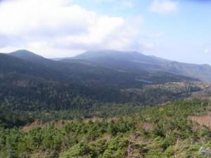 八ヶ岳にゅう山頂からの展望