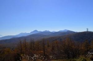 南アルプス(入笠山山頂より)