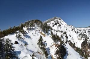浅間山外輪山の黒斑山
