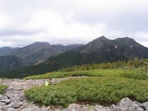 八ヶ岳編笠山からの展望