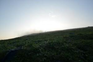 車山からの日の出