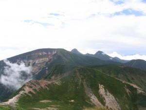 八ヶ岳東天狗からの展望