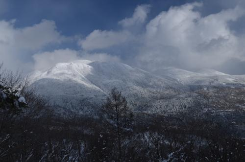 八子ヶ峰から見た北横岳