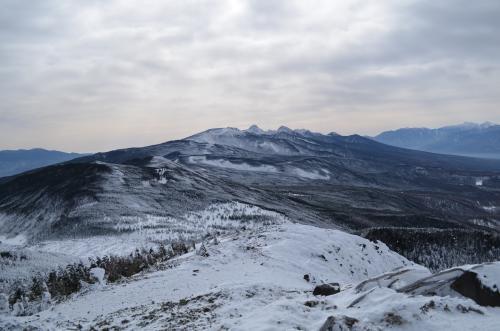 北横岳南峰からの展望
