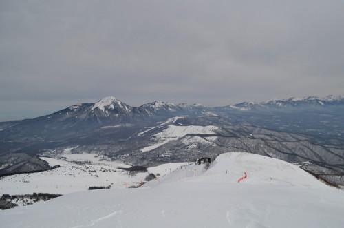 車山山頂から八ヶ岳の展望