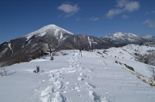 八子ヶ峰西峰山頂