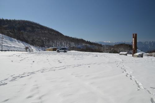 平沢峠の駐車場