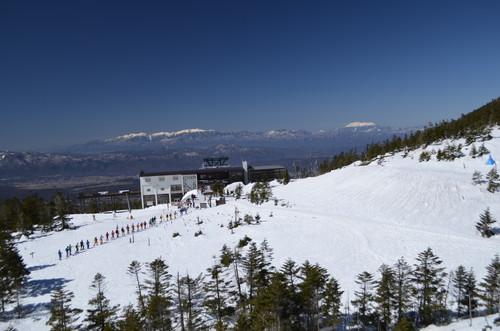 八ヶ岳 坪庭から中央アルプス、御嶽山の展望