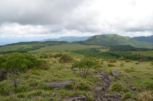 物見岩から見る八島ヶ原湿原