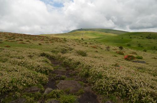 物見岩から見る蝶々深山・車山