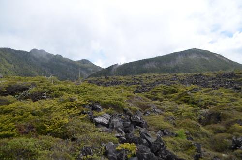 坪庭と三ッ岳・雨池山