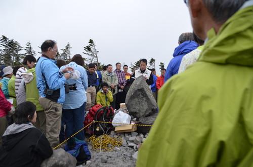 八ヶ岳開山祭の様子