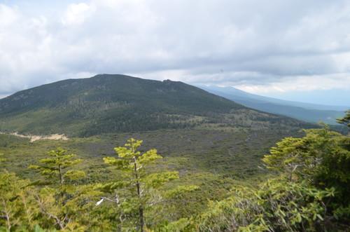 坪庭・南八ヶ岳方面の展望
