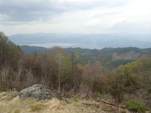 守屋山西峰からの展望