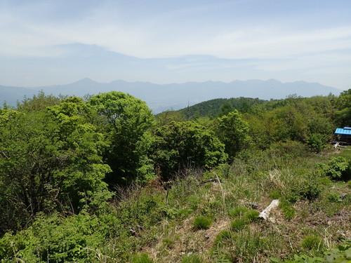 守屋山西峰から見る八ヶ岳