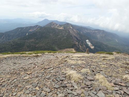 北八ヶ岳方面の眺め
