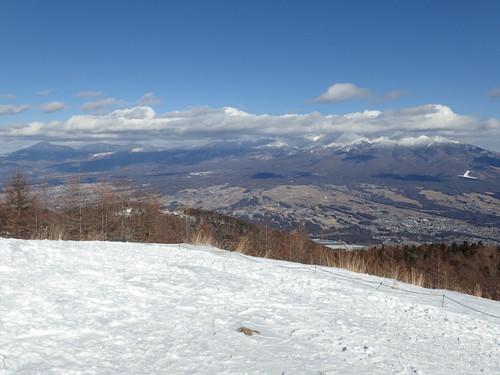 入笠山から見る八ヶ岳