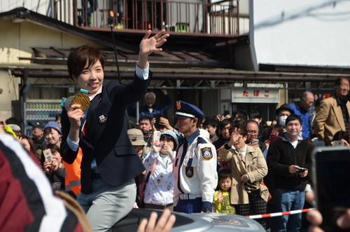 小平奈緒さんのパレード