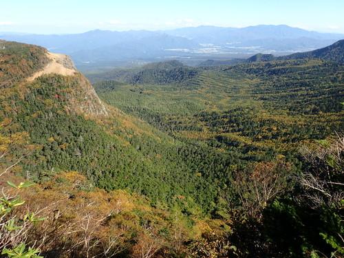 中山峠付近からの紅葉
