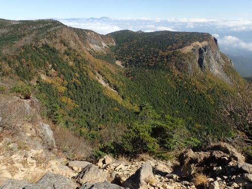 稲子岳付近の紅葉