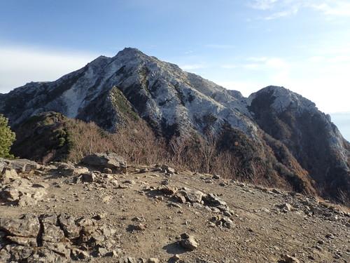 駒津峰から見る甲斐駒ヶ岳
