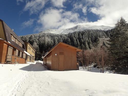 オーレン小屋と硫黄岳