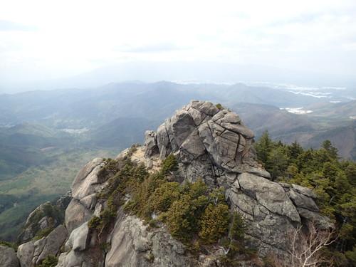 瑞牆山から見る八ヶ岳