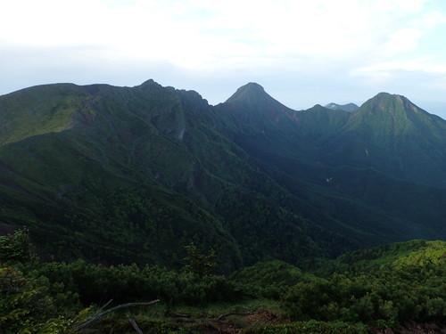 赤岳方面の展望