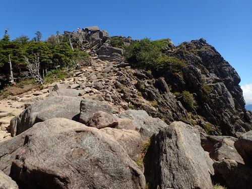 にゅう山頂