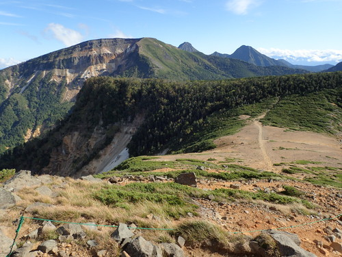 硫黄岳、赤岳