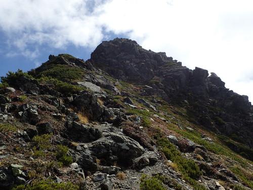 三峰岳山頂